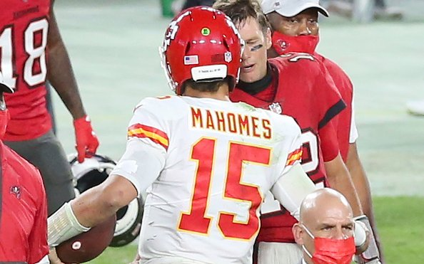 Image for Brady Versus Mahomes: 2 Of The Greats