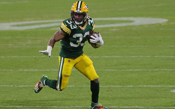 Image for Top 10 in 2021: Aaron Jones Leads the Available Running Backs
