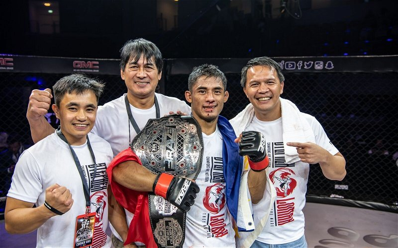 Image for Team Lakay's Stephen Loman Signs With One Championship After Brave CF Championship Run