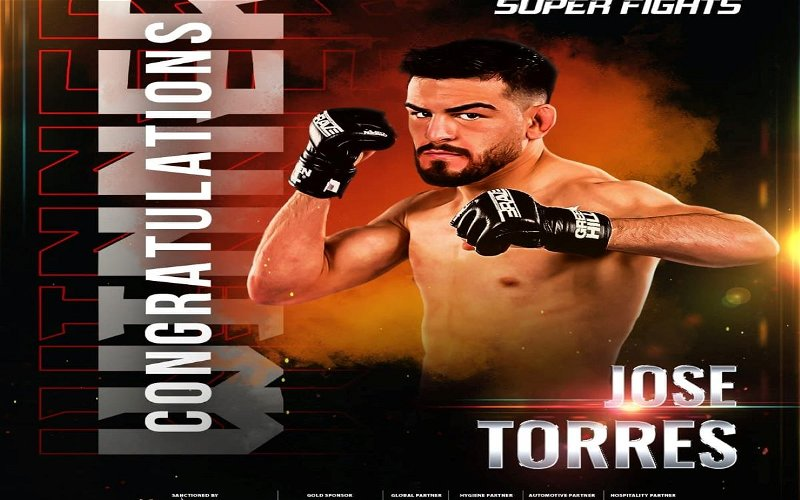 Image for Jose Torres secures a spot in the BRAVE CF Flyweight Tournament Semi Finals