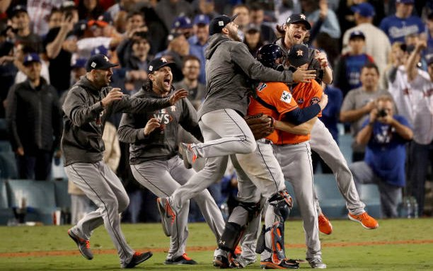 Image for MLB History: Houston Astros Move To The American League