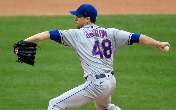 Image for 2021 New York Mets: Jacob deGrom Keeps Getting Better