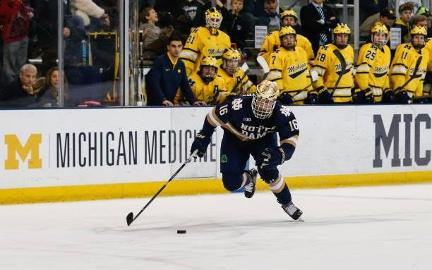 Image for Maple Leafs Sign NCAA FA Alex Steeves
