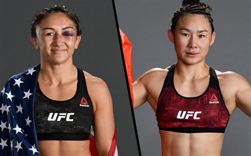 Image for Carla Esparza To Fight Yan Xiaonan at UFC Fight Night on May 22nd