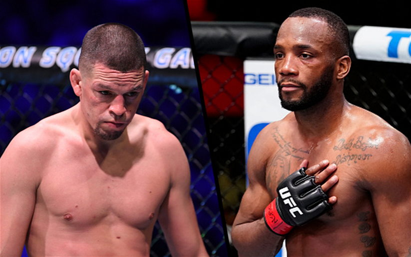 Image for Nate Diaz vs Leon Edwards Booked With 5 Rounds on May 15 at UFC 262