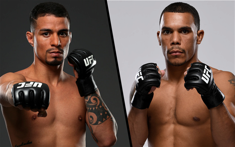 Image for Felipe Colares and Journey Newson Sign Up for UFC Fight Night 190