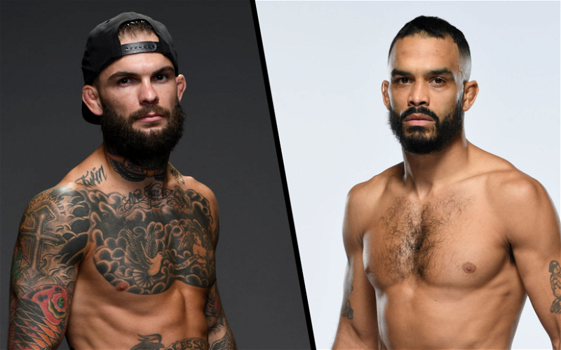 Image for Rob Font vs Cody Garbrandt Booked as UFC Vegas 27 Main Event