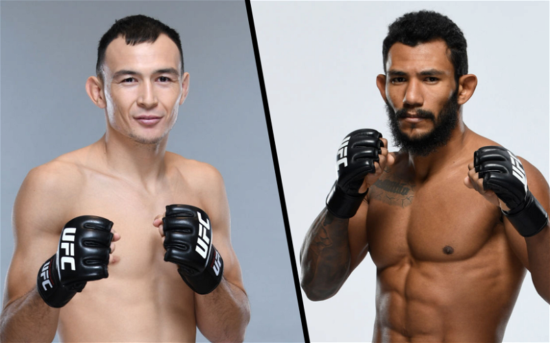 Image for Damir Ismagulov vs Rafael Alves Booked for May 15 Fight at UFC 262