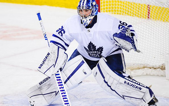 Image for Toronto Maple Leafs 29-Year-Old Jack Campbell Remains Perfect