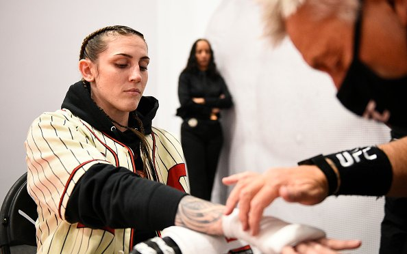 Image for Megan Anderson Reveals the UFC Is Cutting the Women's Featherweight Division