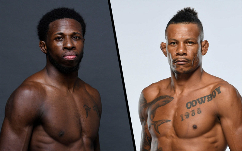 Image for Alex Oliveira and Randy Brown To Fight on April 24th