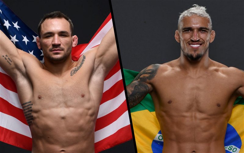 Image for Charles Oliveira vs Michael Chandler Unexpectedly Targeted for UFC 262