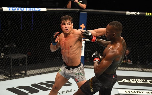 Image for Paulo Costa Puts Israel Adesanya Loss on 'Hangover' From Drinking 'Too Much Wine'