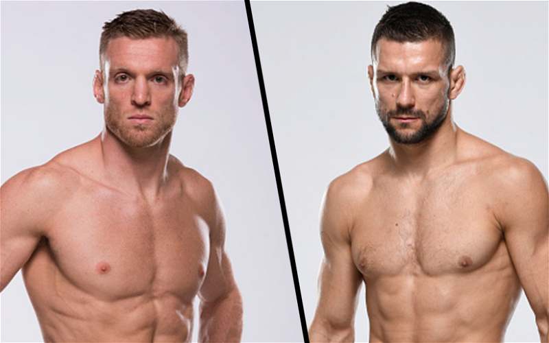 Image for Holtzman vs Gamrot Fight Scheduled for UFC's April 10 Card