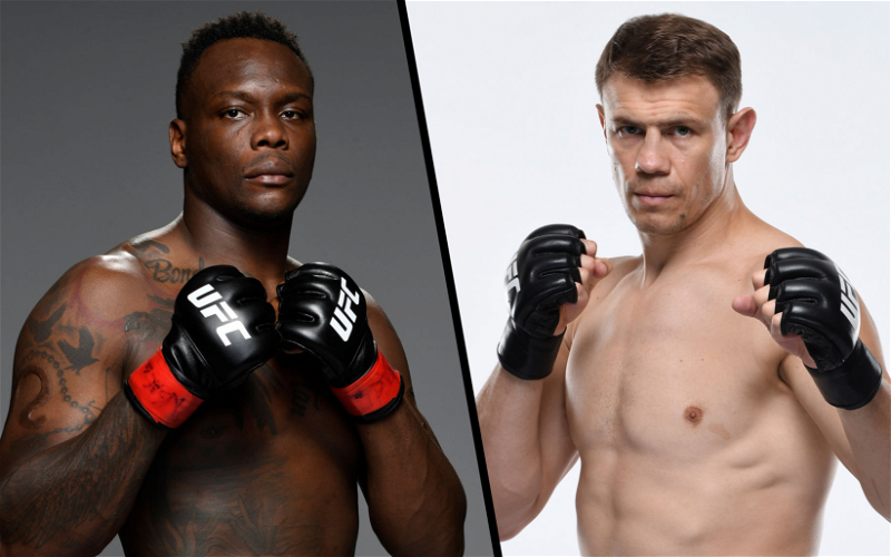 Image for Ovince St. Preux vs Maxim Grishin Booked for June 26