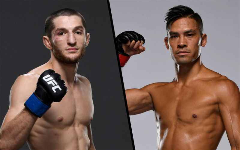 Image for Tyson Nam and Tagir Ulanbekov Battle It Out at UFC Fight Night 190
