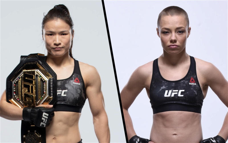 Image for Weili Zhang vs Rose Namajunas Fight Scheduled for UFC 261
