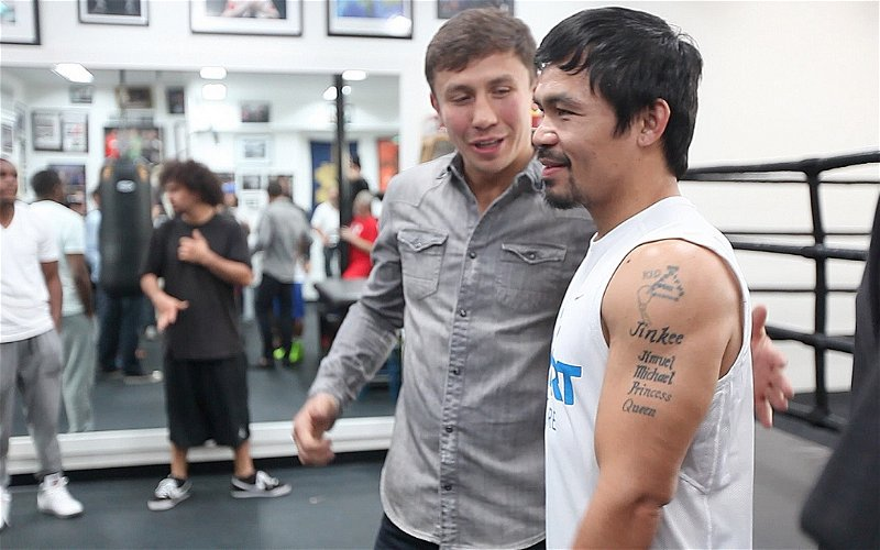 Image for The Race to Retire Pacquiao and Golovkin