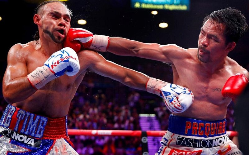 Image for Hypocrisy Flows In Thurman's Hint At Pacquiao PED Use