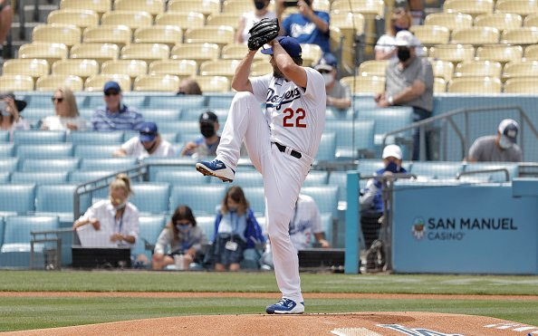 Image for 2021 Dodgers: Kershaw Excellent Early