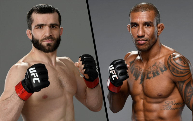 Image for Raoni Barcelos vs Timur Valiev Fight Confirmed for June 26th UFC Card