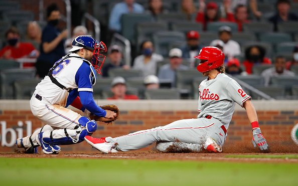 Image for MLB News: Controversial Call in Atlanta