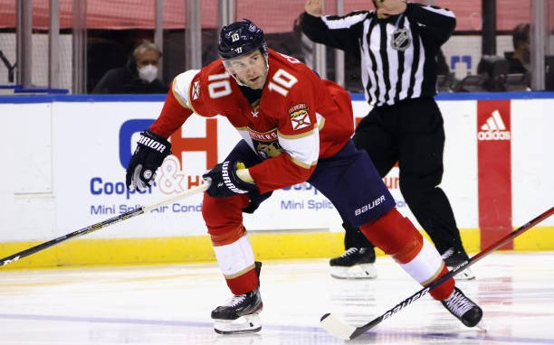 Image for Florida Panthers Trading Brett Connolly as Part of 5-Player Deal