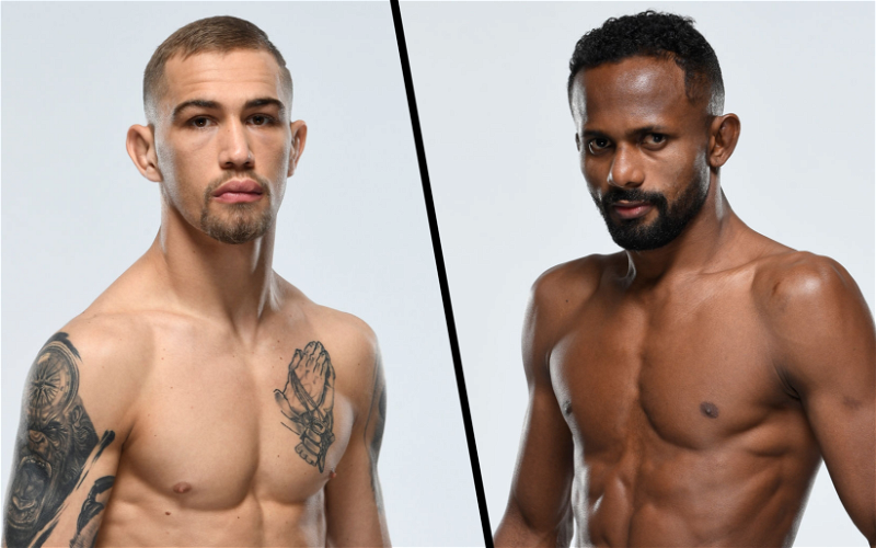 Image for With Jimmy Flick Now Retired, JP Buys Steps in To Face Francisco Figueiredo at UFC Fight Night on May 8th
