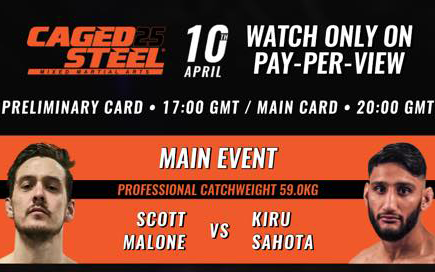Image for The Return of Caged Steel: Main Card Fight Preview