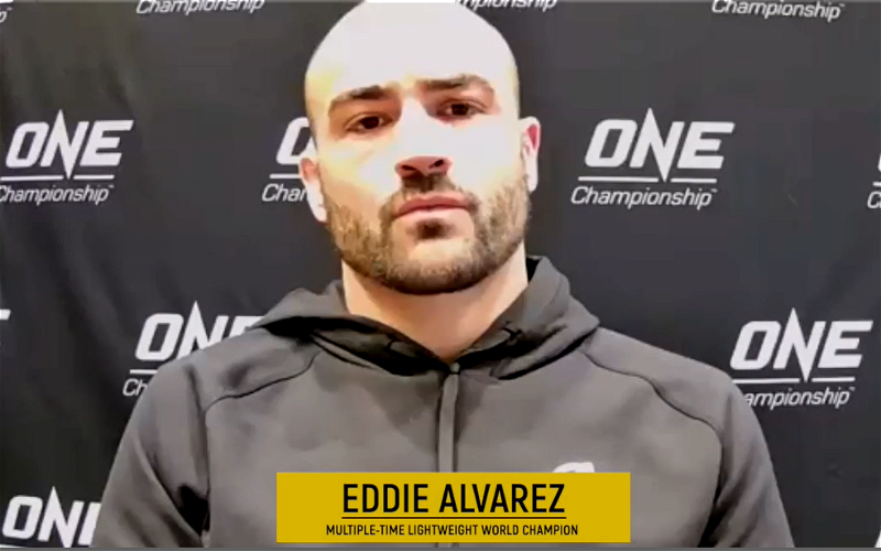 Image for Eddie Alvarez Talks How He Handles Pressure, Opens Up About Not Retiring Anytime Soon