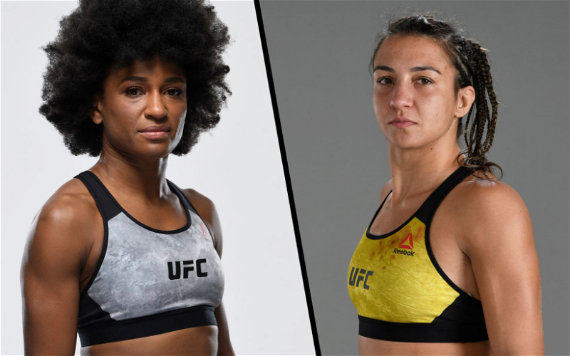 Image for Amanda Ribas vs Angela Hill Strawweight Fight Targeted for May 8th