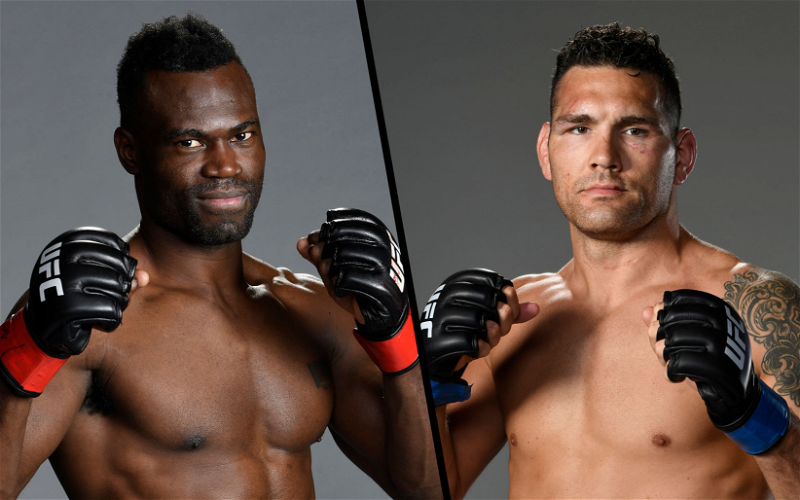 Image for UFC 261: Chris Weidman vs Uriah Hall 2 Preview and Prediction