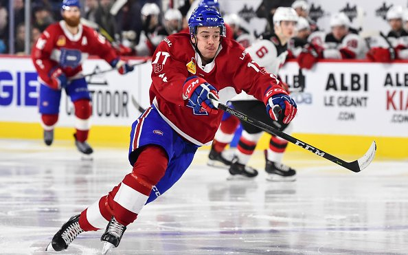 Image for Breaking News: Detroit Red Wings Trade Jon Merrill to Montreal Canadiens for Hayden Verbeek and Fifth-round Pick
