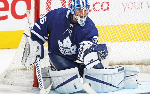 Image for Jack Campbell Sets Toronto Maple Leafs Record