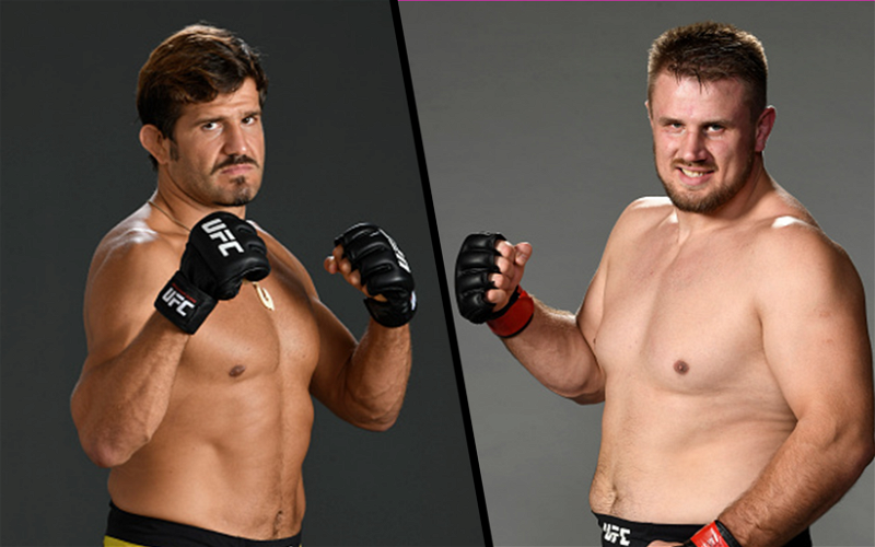 Image for Juan Espino and Alexandr Romanov Both Confirm April 17th UFC Fight