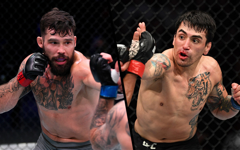 Image for Kevin Aguilar vs Tucker Lutz Lightweight Fight Booked for UFC 262