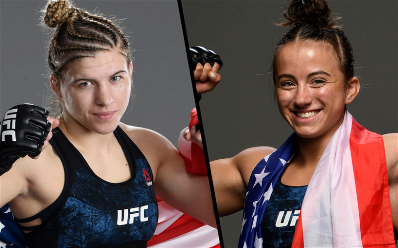 Image for UFC's Youngest Ranked Prospects Maycee Barber and Miranda Maverick Set to Fight on July 24th