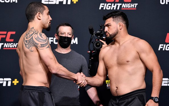 Image for UFC Vegas 24 Weigh-in Results: Stephens Shoves Klose, Fairn, and Cortez Miss Weight