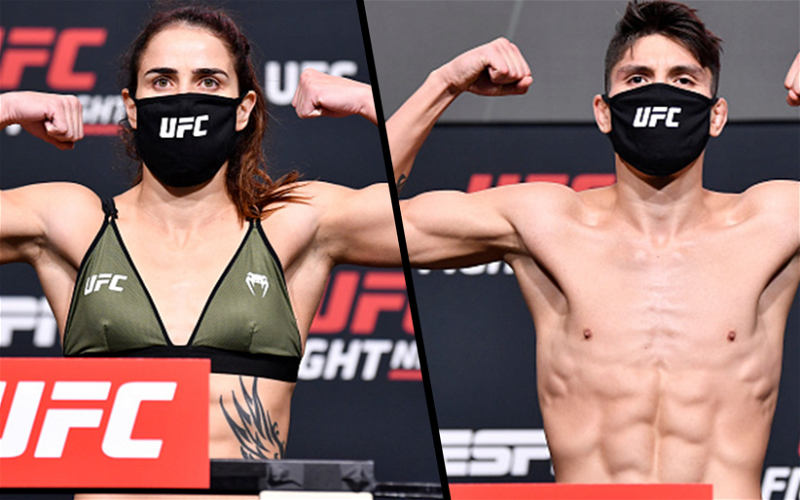 Image for UFC Vegas 23 Weigh-in Results: Dumont, Bahamondes Miss Weight