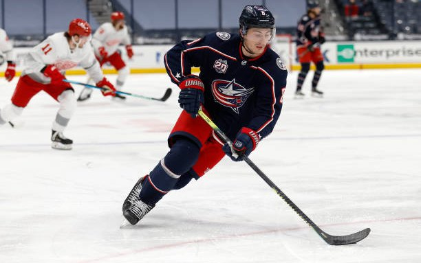 Image for Zach Werenski Out For Season  Due to Sports Hernia