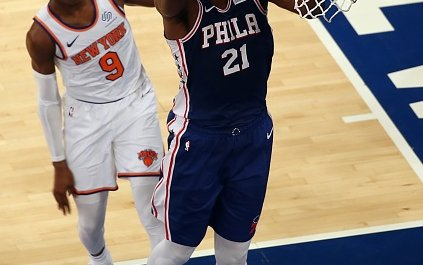 Image for If the 76ers Lose Early in the Playoffs Is It Time to Break Up Embiid and Simmons?