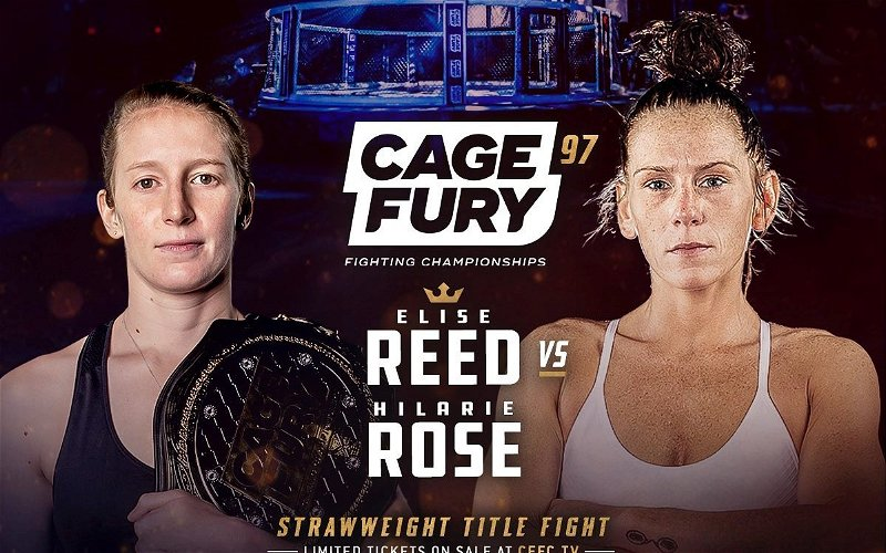 Image for CFFC 97 Strawweight Championship: Elise Reed vs Hilarie Rose