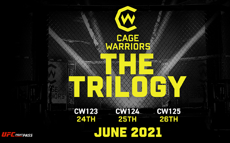 Image for Cage Warriors Trilogy in June: First Week of Announcements