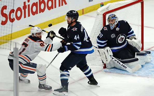 Image for The Edmonton Oilers Swept In The 2021 Stanley Cup Playoffs By The Winnipeg Jets