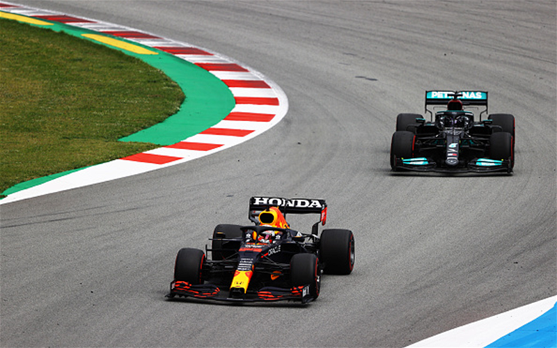 Image for Silver and Gold: Lewis Hamilton, Max Verstappen, and the Duel for F1 Supremacy