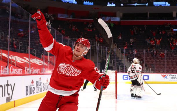 Image for 2021 Detroit Red Wings Season Awards