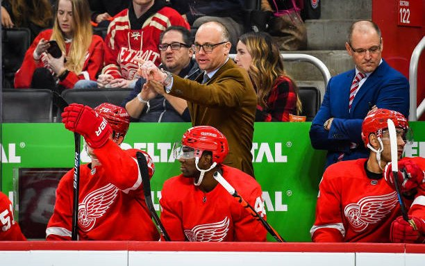 Image for Detroit Red Wings Sign Jeff Blashill to New Contract
