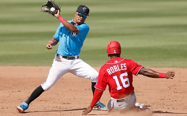 Image for 2021 Miami Marlins: Jose Devers Impresses with Defensive IQ