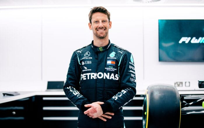 Image for Romain Grosjean Makes F1 Return for a Special One-off Test With Mercedes