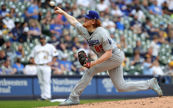 Image for MLB Breaking News: Dustin May Out for the Season